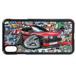 Koolart Stickerbomb & Licensed Mk1 Fiesta Supersport Car Image Mobile Phone Case Cover Fits iPhone